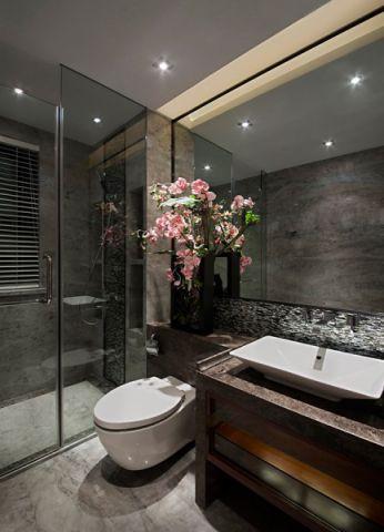 卫生间吊顶中式风格装修设计图片
