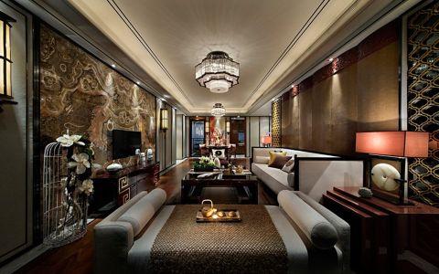 中式风格280平米大户型房子装饰效果图