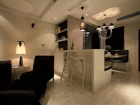 餐厅吧台现代简约风格装饰图片