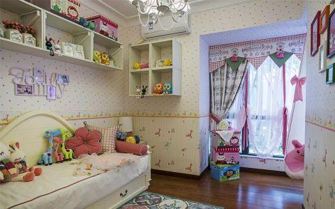 儿童房窗帘田园风格装潢设计图片