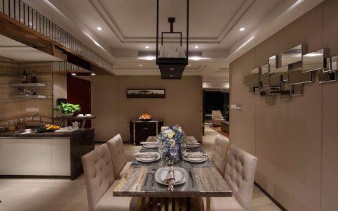 餐厅吊顶现代风格装潢图片