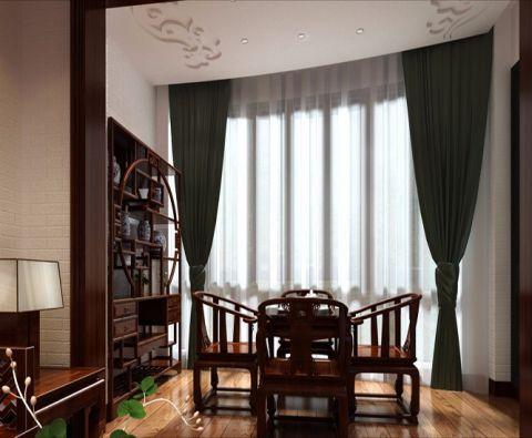 阳台窗帘混搭风格装潢设计图片