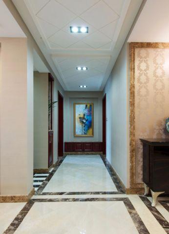 玄关吊顶新古典风格装饰图片