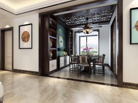 餐厅走廊中式风格装潢图片