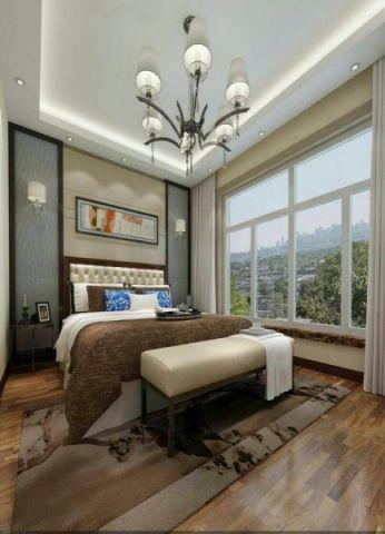 卧室简约风格装修效果图