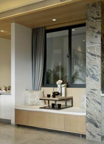 客厅榻榻米现代风格装潢设计图片