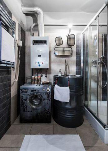 卫生间推拉门后现代风格装饰图片