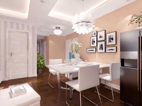 餐厅照片墙现代简约风格装潢设计图片