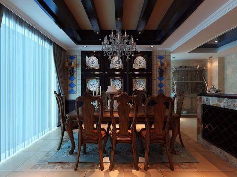 餐厅美式风格装饰图片