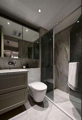 卫生间吊顶美式风格装修效果图