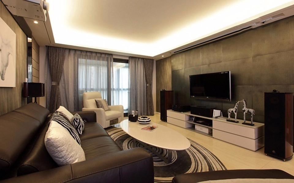 3室1卫1厅130平米简约风格