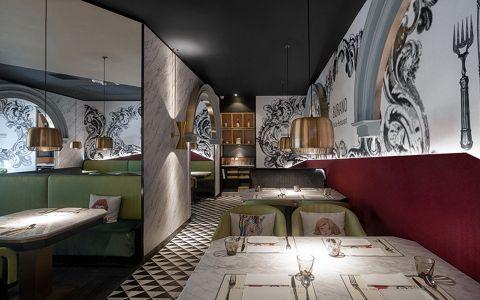 欧式风格餐馆装修效果图