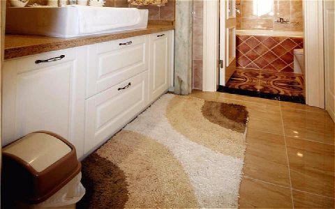 卫生间走廊简欧风格装修设计图片