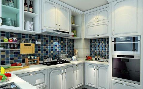 厨房背景墙地中海风格效果图