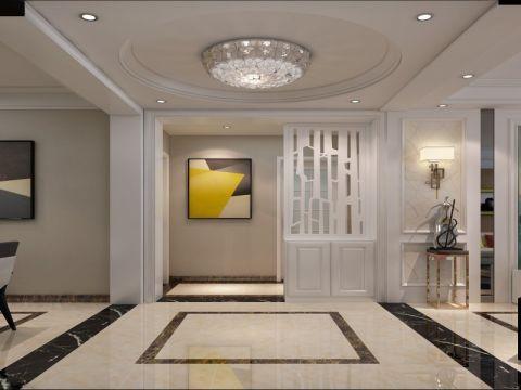 玄关吊顶现代风格装潢效果图