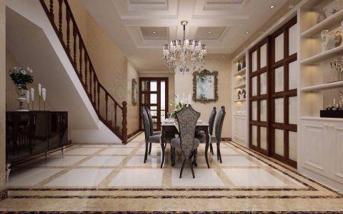 餐厅楼梯欧式风格装潢设计图片