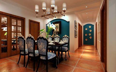 餐厅走廊美式风格装潢图片