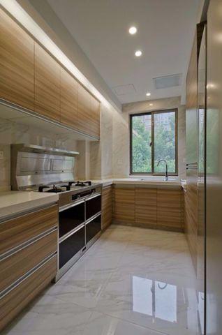 厨房背景墙简约风格装修设计图片