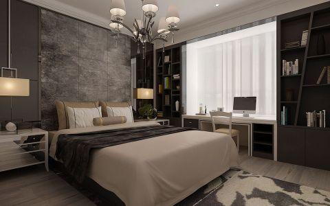 卧室博古架简约风格装饰设计图片