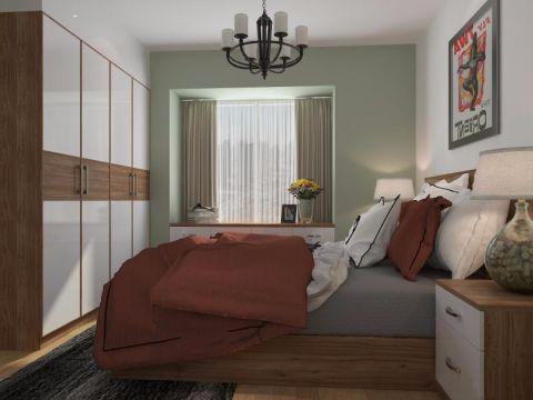 卧室飘窗现代风格装潢设计图片
