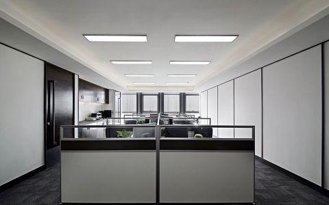 简约风格办公室装修效果图