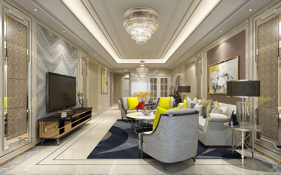 4室2卫2厅144平米简欧风格