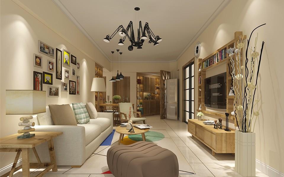 2室1卫1厅87平米现代简约风格