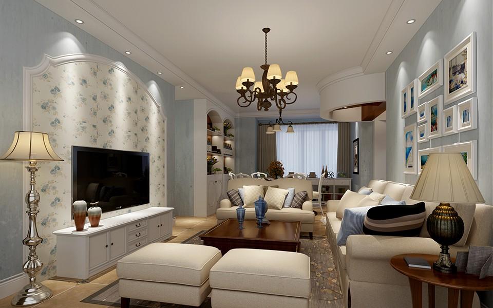 3室1卫1厅131平米地中海风格