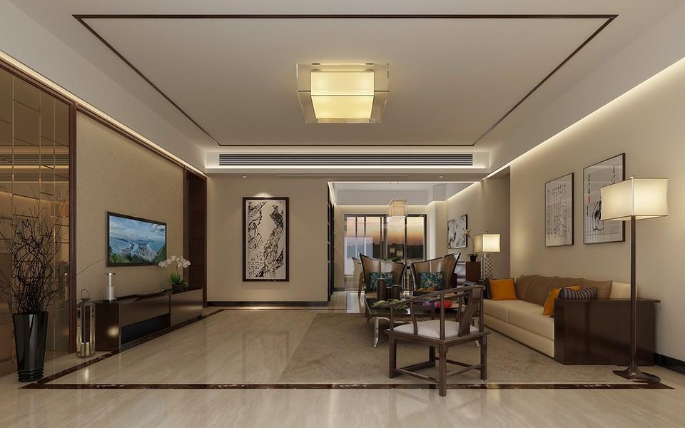 4室1卫2厅142平米新中式风格