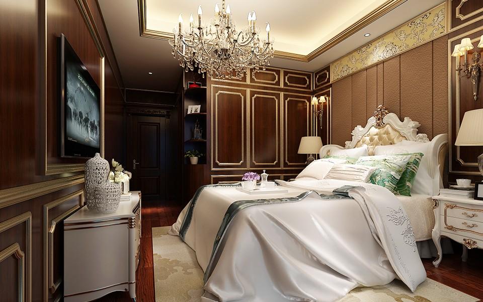 3室2卫1厅155平米法式风格