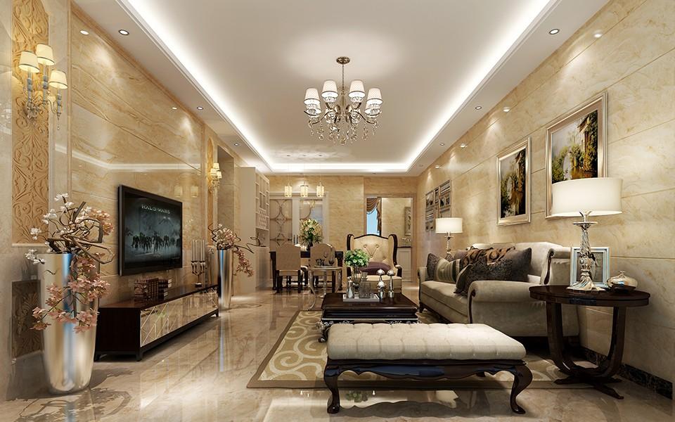 3室2卫2厅130平米欧式风格