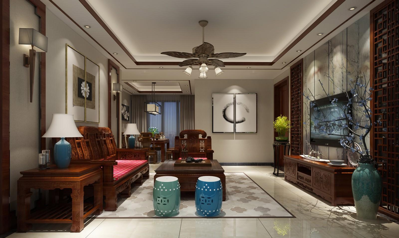 4室2卫2厅148平米现代风格