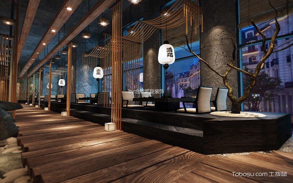 日式料理大厅装潢图片欣赏