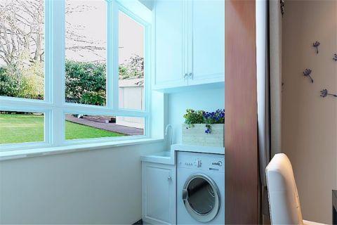 阳台窗台简约风格装潢设计图片