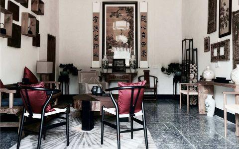 中式风格160平米大户型房子装修效果图