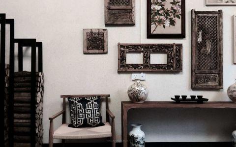 客厅照片墙中式风格装饰图片