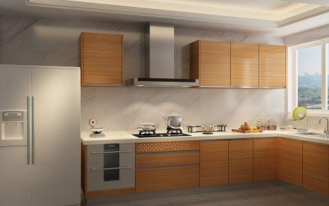 厨房背景墙现代中式风格装修效果图