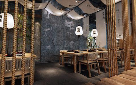 日式料理店装修效果图
