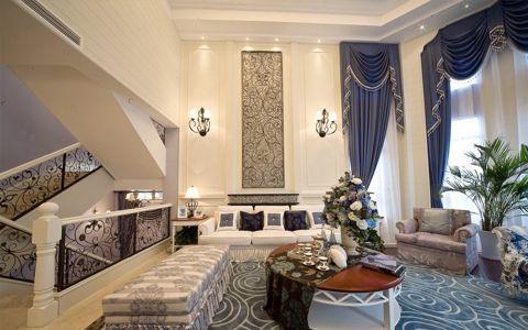 欧式风格300平米别墅房子装修效果图