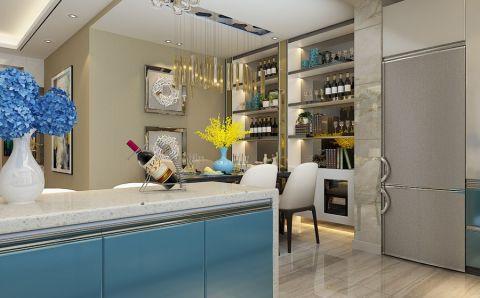 厨房走廊现代简约风格装潢设计图片