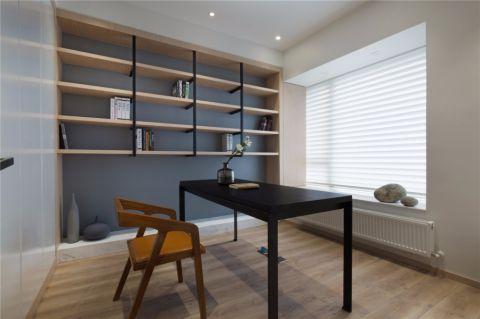 御龙湾现代简约三居室家庭装修效果图