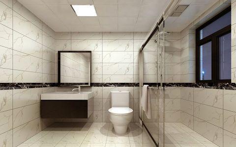 卫生间推拉门现代简约风格装修设计图片