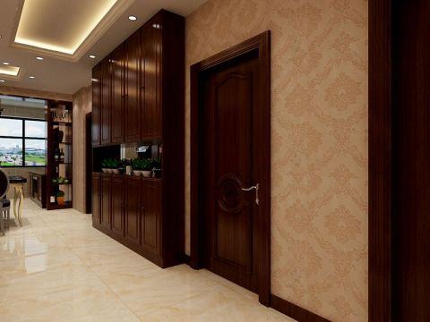 玄关背景墙简欧风格装修效果图