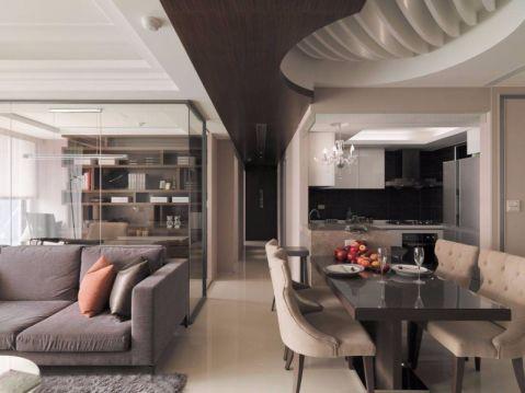 餐厅走廊欧式风格装潢图片
