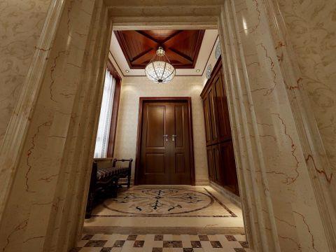 玄关门厅古典风格装饰设计图片