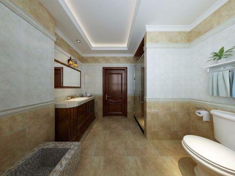 卫生间吊顶古典风格装潢效果图