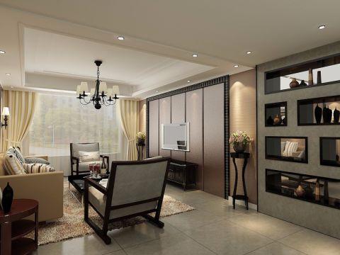简约风格220平米大户型房子装修效果图