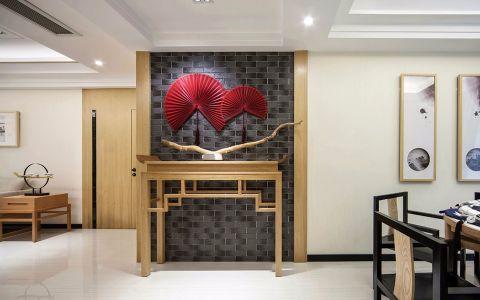 玄关吊顶新中式风格装潢效果图
