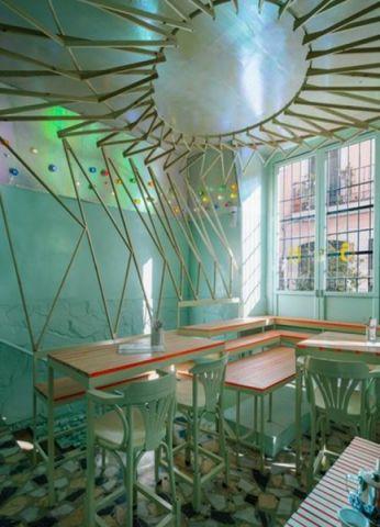 自然主题咖啡厅装修效果图