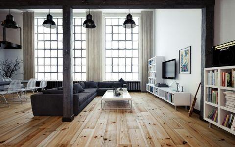现代简约风格90平米小户型房子装修效果图